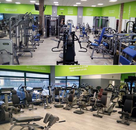 Sala pesi e cardio