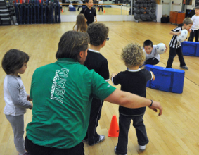 Baby Fit Rugby in Palestra Life