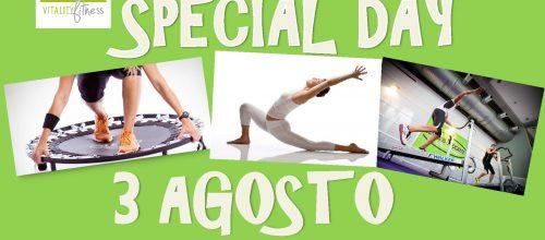 Special Day.. Giovedì 3 Agosto